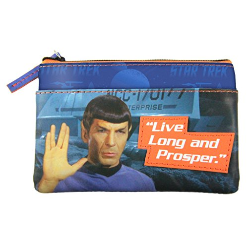 Star Trek Spock Graphic Coin Purse by The Coop