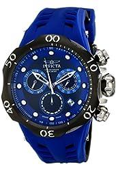 Invicta Men's 16988 Venom Analog Display Swiss Quartz Blue Watch