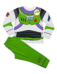 Disney Toy Story Glow in Dark Novelty Boys Long Length Pajama 1.5-2,2-3,3-4,4-5 Years
