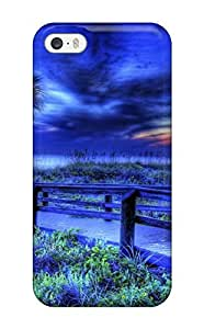 NaRnFBq7140pIGAK Blue R Photograph Fashion Tpu 5/5s Case Cover For Iphone