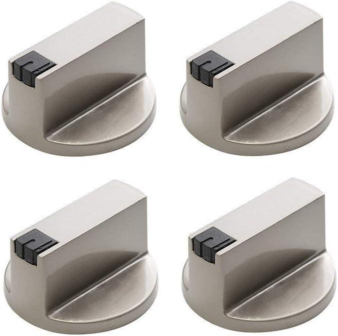 4 pomos de cocina de gas, interruptor de control de cocina, horno y hornillo, interruptor de control de superficie de cocina (6 mm 90°)
