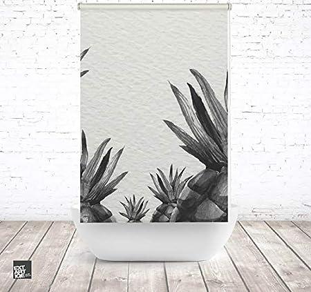 EXTARTIQE extar tiqe Ducha baño Enrollable 150 cm Textil Piña SW ...