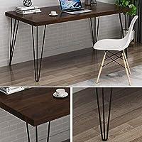 Patas para muebles de horquilla negra - Patas de mesa de 2 barras ...