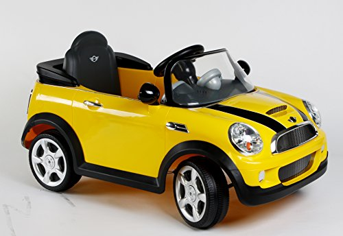 rollplay mini cooper 6 volt battery powered ride on kids. Black Bedroom Furniture Sets. Home Design Ideas