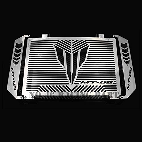 Price comparison product image NAHASU Covers & Ornamental Mouldings / Silver Motorcycle Accessories Radiator Guard Protector Grille Grill Cover for Yamaha MT 09 MT-09 MT09 Tracer