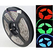 5m 12v Ip65 Waterproof 300 LED Strip Light RGB 5050 SMD String Ribbon Tape Roll