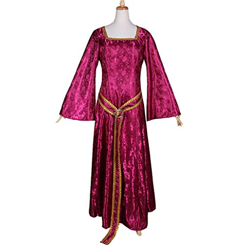 [CosplayDiy Women's Dress for Rapunzel Tangled Mother Cosplay M] (Tangled Costume Ideas)