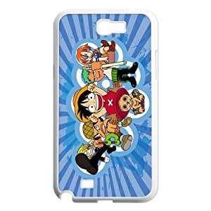 Hot Anime One Piece Hard Plastic Back Protective Case for Samsung Galaxy Note2 N7100 FC-5
