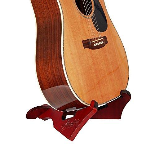 使い勝手の良い Amumu WGS-10 Stand Wooden Guitar Stand Bass For Acoustic/Electric Guitar Guitar Bass [並行輸入品] B07FQ3DM1Z, レザムルーズ:6150bd82 --- casemyway.com