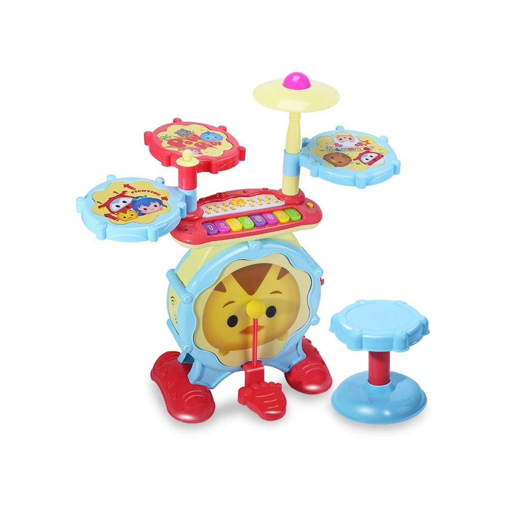 X-CAT Kinder E-Piano Drums Kinder Percussion Spielzeug Anfänger Jungen Und Mädchen Spielzeug (Farbe   A-C) A-d