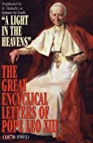 The Great Encyclical Letters of Pope Leo XIII (1878-1903), Leo XIII, 0895555298