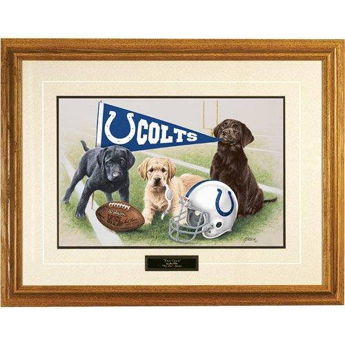 NFL Indianapolis Colts Jim Killen Signature Black Framed Print