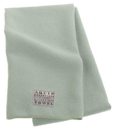 Aquis Microfiber Hair Towel, Celadon (19 x 39-Inches)