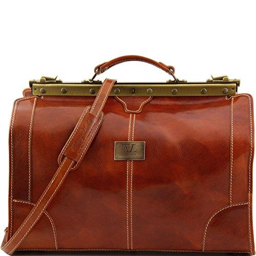 810234 - TUSCANY LEATHER: MADRID - Sac de voyage en cuir - Petit modèle, miel