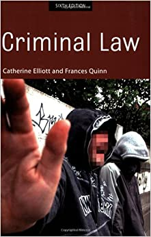 Criminal Law: 6th