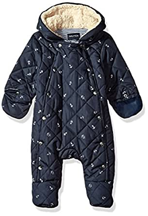 Amazon.com: Nautica Baby Boys' Quilted Sherpa Lined