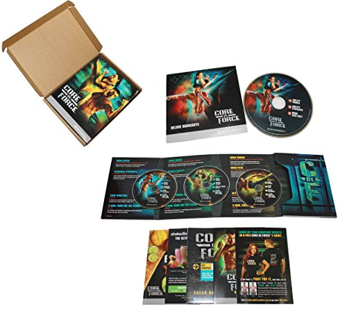 CORE DE FORCE Base Kit DVD workout program - MMA inspired 4 DVD - Eating Plan book and calendar included by CORE DE FORCE
