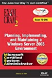 MCSA/MCSE Planning, Implementing, and Maintaining a Microsoft Windows Server 2003, Will Schmied and Lanwrights Inc Staff, 0789730146