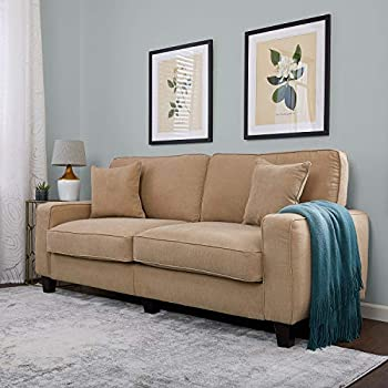 "Serta RTA Palisades Collection 78"" Sofa in Silica Sand"
