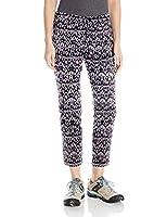 LOLE Women's Jolie Pants, Cactus Flower Sizzle Ikat, Size 8