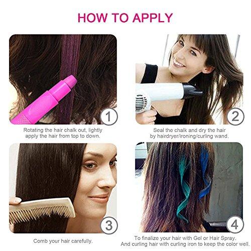 Kids Temporary Hair Color Chalk Hair Color Gel Hair color Wax for ...