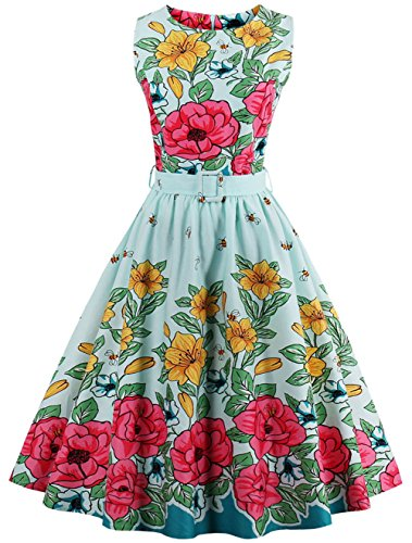 80s Polka Dot Dress - 4