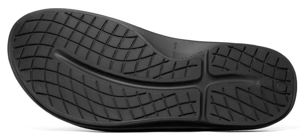 OOFOS Unisex OOahh Sport Slide Sandal B00YW3S83C 15 B(M) US Women / 13 D(M) US Men|Black/Black