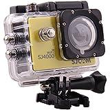 MeGooDo SJCAM Original SJ4000 WiFi Action Camera 12MP 1080P H.264 1.5 Inch 170° Wide Angle Lens Waterproof Diving HD Camcorder Car DVR (Yellow)