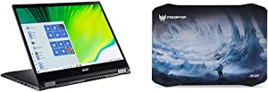 Acer Nitro 5 Gaming Laptop, 9th Gen Intel Core i5-9300H with Acer Predator Ice Tunnel Mousepad