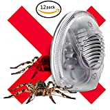 Ultrasonic Spider and Rodent Electronic Plugin Pest Repeller (12 Pack)
