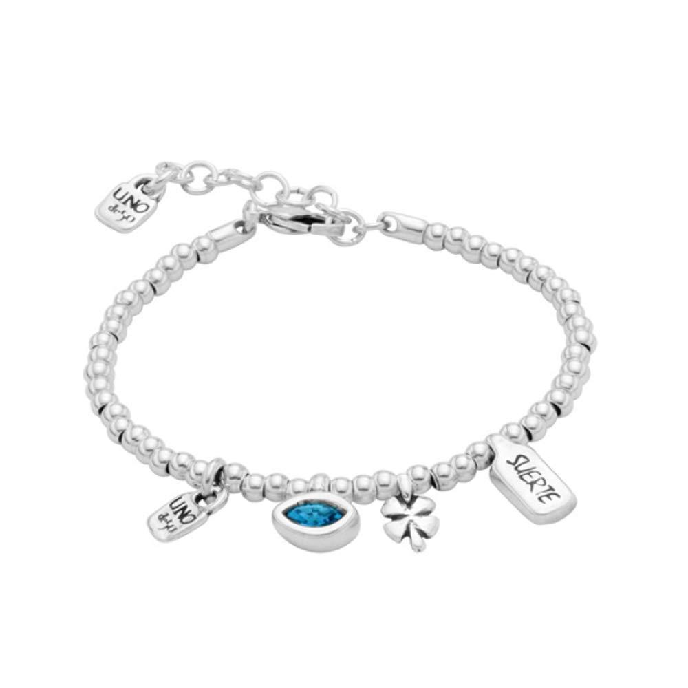 Uno de 50 I'm Waiting 4 U Blue Bracelet PUL1854TQSMTL0M