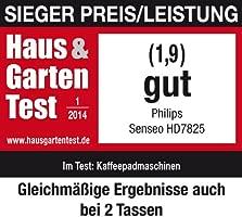 Philips HD7812/50 Senseo - Cafetera, 1450W, color plateado. Importada de Alemania