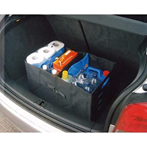 heavy duty 56 litre car boot tidy storage box black new. Black Bedroom Furniture Sets. Home Design Ideas