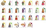 Bookmark Korean Traditional Clothes Bookmark Hanbok Metal Wholesale 260pcs