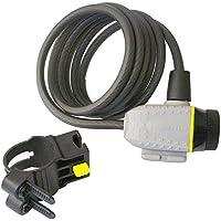 Michelin Antivol spiral à clé + support Diamètre 8 1800 mm