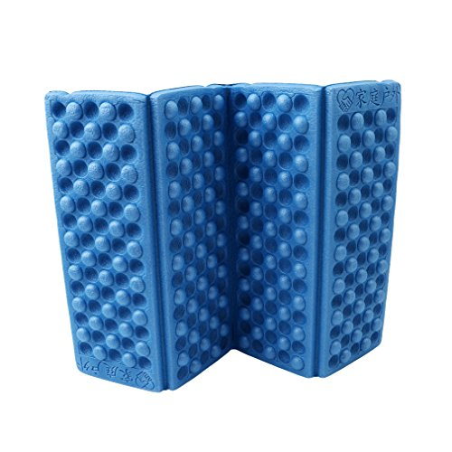 HS 1PC Foldable Folding EVA Foam Waterproof Chair Cushion Seat Pads Mat for Camping Hiking Sports Outdoor Activities (Folding Pad)