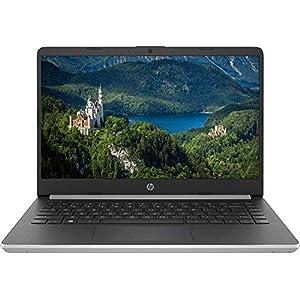 Newest HP 14″ HD Premium Business Laptop PC | 10th Gen Intel Quad-Core i5-1035G1 up to 3.6GHz | 8GB RAM | 256GB SSD | WiFi | HDMI | Card Reader | Bluetooth | Windows 10 | Silver