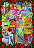 100 unisex party bag toys,loot bag fillers,birthday party,pass the parcel fillers