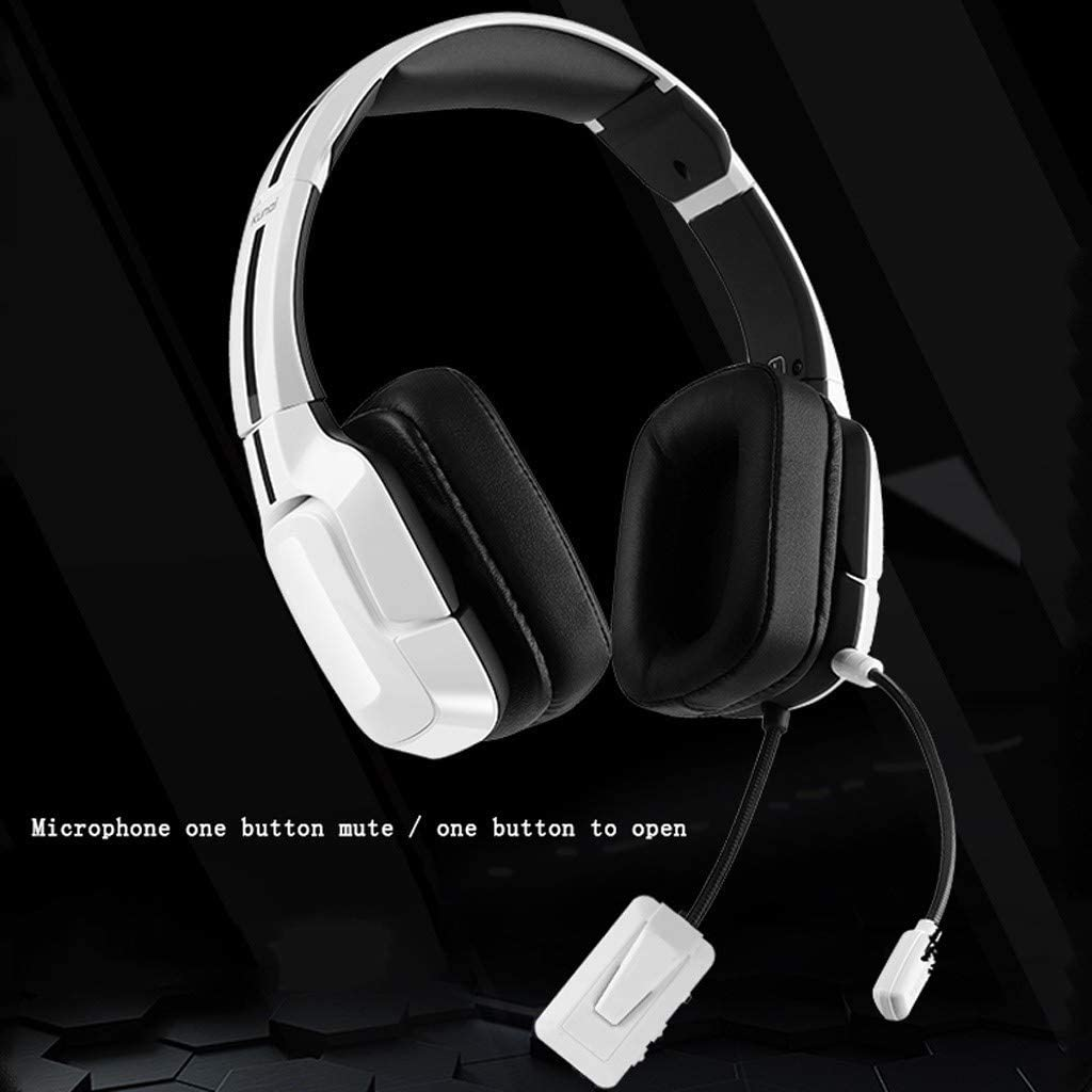 Color : Black KQHSM 7.1-Channel Gaming Headset Stereo Surround Headset Gaming Sports Headphones