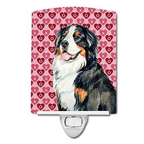 Caroline's Treasures Bernese Mountain Dog Love Valentine's Night Light, 6'' x 4'', Multicolor by Caroline's Treasures