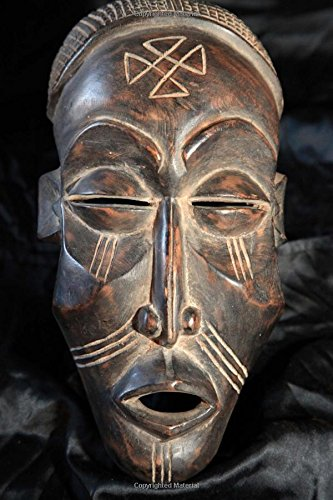 African Mask:  Chokwe Tribe Journal: 150 Page Lined Notebook/Diary