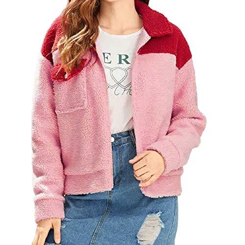 Cotton Sateen Pencil Skirt - URIBAKE Newest Women's Lapel Coat,Winter Warm Fluffy Wool Zipper Pockets Cotton Jacket Outerwear