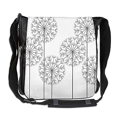 high-quality Lovebbag Modern Hand Drawn Digital Flower Dandelions Botanic Plants Crossbody Messenger Bag