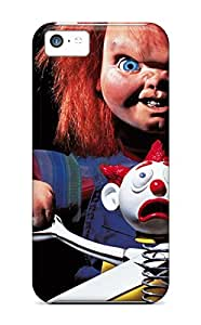 Protective Tpu Case With Fashion Design For Iphone 5c (chucky Child Play)