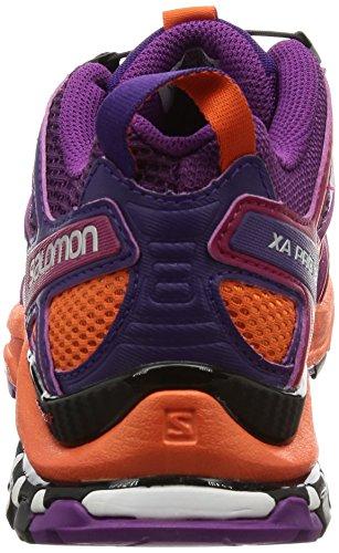 Trail Juice W Chaussures 3D Femme flame Salomon Grape Violet acai de XA Pro OqSnwY6