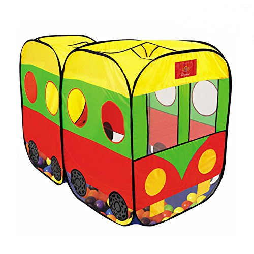 2 in 1 Large space Kids/Children PlayHouse Bus Castle/Tent for Indoor and Outdoor