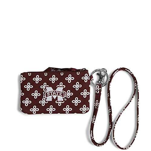 Mississippi State Bulldogs Window (NCAA Mississippi State Bulldogs Women's Zip ID Lanyard, Maroon/White, One Size)