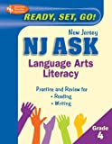 NJ Ask Language Arts Literacy Grade 4, Research & Education Association Editors, 0738602841