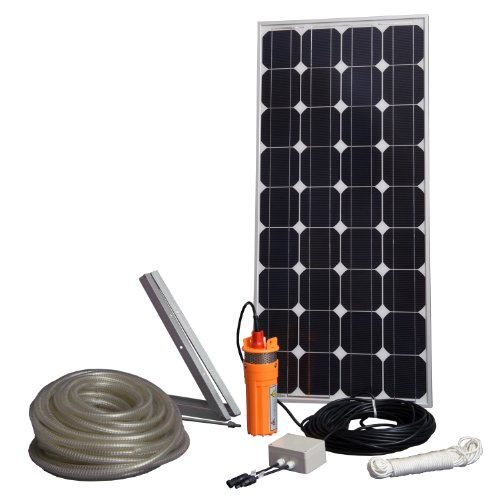 Sunforce 82328 80W Solar Submersible Water Pump Kit by Sunforce