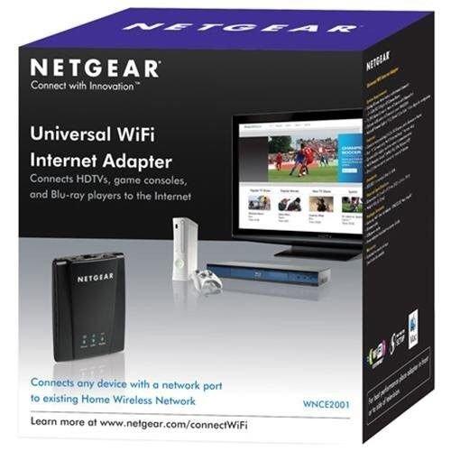 WNCE2001 Universal WiFi Internet Adapter - Bridge - 802.11b/g/n by NETGEAR